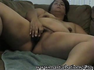 Bbw mother nicole Fingering and cumming