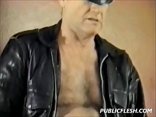 Extreme vintage gay anal insertions