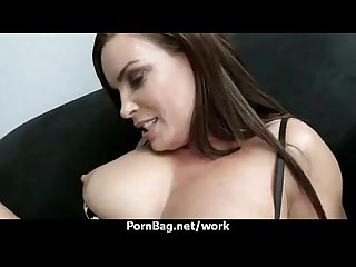 Hot horny executive hottie massaged and fucked hard in office 9