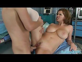 Real nurse with bigtits gets fucked deeply