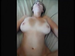 Beautiful wife on real homemade
