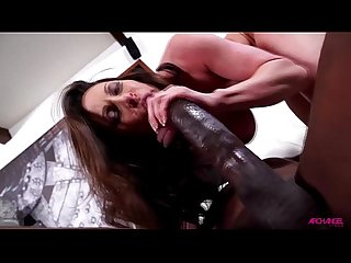 Kendra Lust pounded by Mandingo big black cock