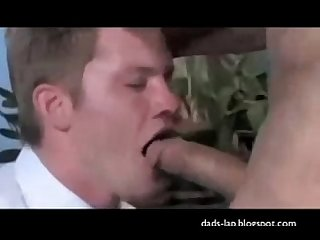 mormon boy bends over
