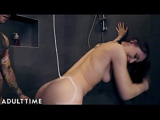ADULT TIME Aidra Fox Fucks in Shower & Takes that Cock Hard & Deep!