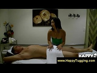 Asian masseuse knows how to spoil a man