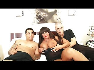 Two young horny boys with an horny milf wih huge natural tits milfsex
