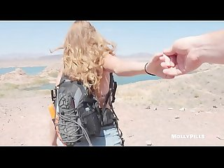 Young College Slut begs for Creampie on Spring Break Beach - Molly Pills - Public Lake Hiking..