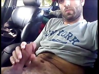 Hot hairy indian man cuming