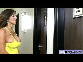 Sex tape with horny sexy naughty busty wife clip 28