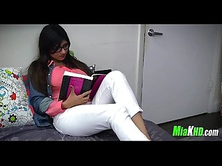 Mia Khalifa teaches her muslim friend how to suck cock 2 91