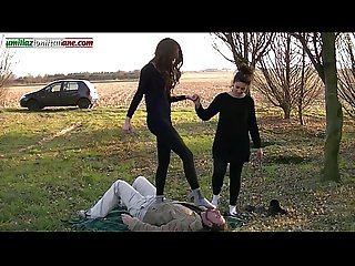 The Anna s experiences full video 2 girls vs 1 slave