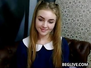 Innocent petite teen cam girl