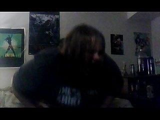 Goth bbw milf creampie