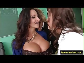 Hot and MEan Lesbians - Ava and the Slutty Schoolgirls with Abigail Mac & Ava Addams & Ryan