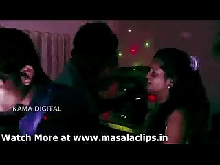 Hot desi girl enjoyment with two guys at disco club