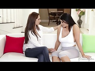 Busty nanny and the military wife romi rain reena sky