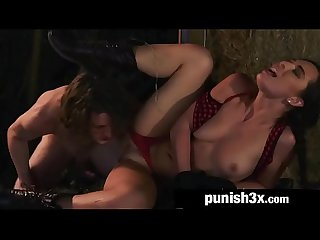 Pretty Teen Aidra Fox Becomes Stalker's BDSM Slave