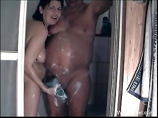Funny mature couple sex tape