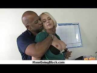 Monster black cock bangs my moms white pussy 24