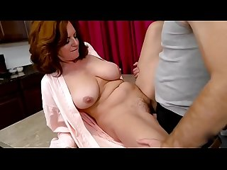 Step mom andi james is sexted her sons cock