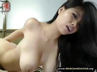 Sexy Asian Fingers Herself on cam - www.WebCamGirlsClub.org