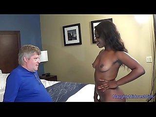 Skyler nicole ebony cutie fucks not her stepdad