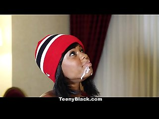 Teenyblack karma may s first porn scene