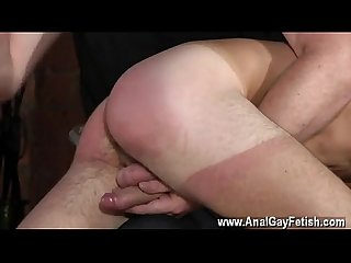 Black man gets finger by a white man gay porn spanking the schoolboy