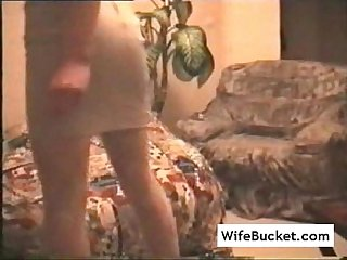 French wife stuffed on camera