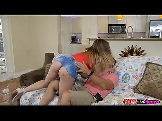 Mom joins teen stepdaughter and her boyfriend moms bang teens rk