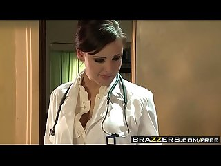 Brazzers - Doctor Adventures - Sexy Doctor Fucks Patient scene starring Brooke Lee Adams and Danny
