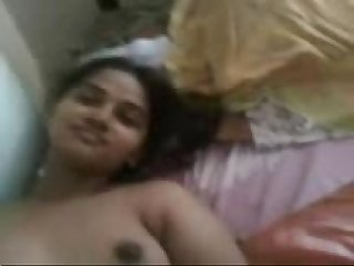 bangla girl nude giving handjob n lowjob on bed