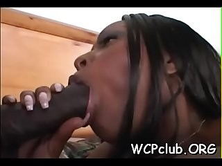 Black one eyed monster in White anal