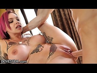 Devilsfilm Anna bell peaks squirt cums from loving cock excl