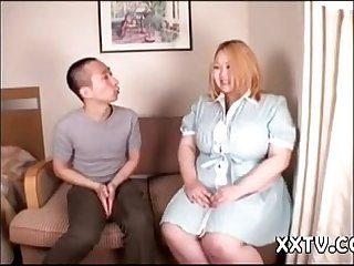 Huge Tit BBW Asian Hard Play (solideX)