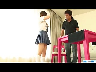 Miku airi is a hot schoolgirl in need for a mature cock more at javhd net