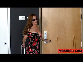 Stepmom diamond foxx comes home to fucking teen amara romani