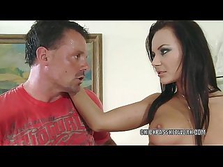 Czech coed Nataly takes some dick in her hot pussy