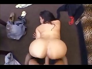 Booty brunette milf pov fuck on homemade