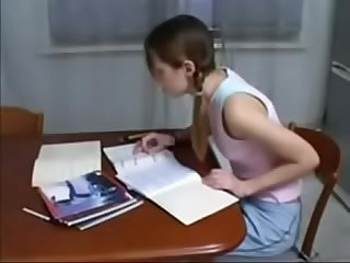 Xhamster com 4269996 brother helps not his skinny sister with homework dad