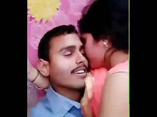 Desi bf suck hot gf boobs with hind audio