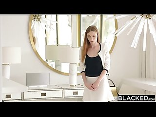 BLACKED Intern Gets Dominated By Mandingo's BBC
