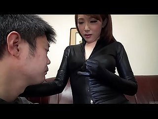 Subtitled japanese av star ai mizushima full body worship