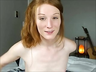 Ginger Tranny on Cam
