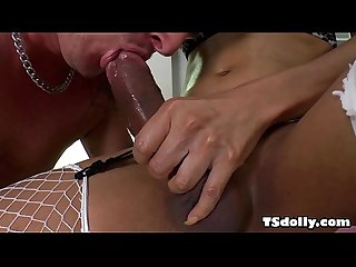 Ts candy b loves anal fuck