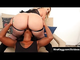 Twerking Nina Kayy & Harmonie Marquis Pussy Lick Each Other!