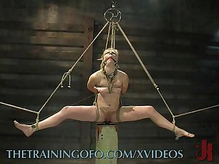 Hardcore bondage training