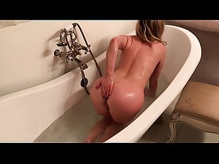 Milf in the bath orders up A Delivery boy erin electra