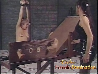 Beautiful slave girl experiences a whole new level of pain 6