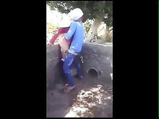 Village girl sex in outside